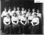 YWCA group portrait at Western College 1917