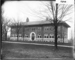 Brice Hall from the northwest in 1906