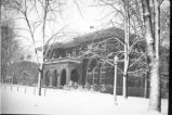 Benton Hall in winter n.d.