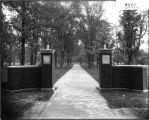 Northwest entrance to Miami Campus in 1909