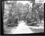 Northwest entrance to Miami University campus ca. 1930