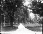 Northwest entrance to Miami University campus ca. 1900