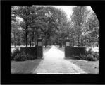 Northwest entrance to Miami Campus ca. 1930