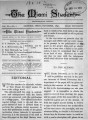 'The Miami Student, Vol. 011, No. 01 (Oct., 1891)'