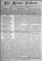 'The Miami Student, Vol. 002, No. 01 (Sept. 24, 1867)'