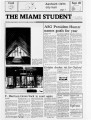 The Miami Student, Vol. 105, No. 08 (Sept. 18, 1981)