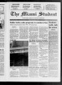 The Miami Student, Vol. 120, No. 18 (Nov. 6, 1992)