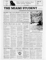 The Miami Student, Vol. 105, No. 12 (Oct. 2, 1981)