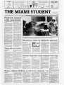The Miami Student, Vol. 105, No. 15 (Oct. 20, 1981)