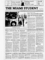 The Miami Student, Vol. 105, No. 14 (Oct. 16, 1981)