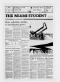The Miami Student, Vol. 105, No. 19 (Nov. 3, 1981)