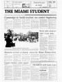 The Miami Student, Vol. 105, No. 16 (Oct. 23, 1981)