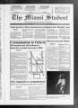 The Miami Student, Vol. 120, No. 39 (Mar. 25, 1993)